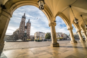From Warsaw: Auschwitz and Krakow Low Cost Tour with Pickup