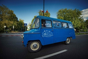 Guided City Tour in a Retro Bus or Minibus