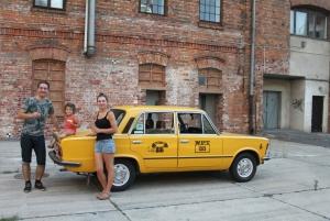 Historic Private Tour in Retro Fiat