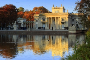 Lazienki Palace & Park Private Tour with Cruise