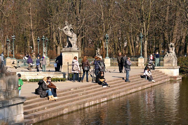Lazienki Park The Royal Bath In Warsaw My Guide Warsaw