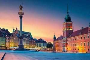 Old Town, Royal Castle & Palace of Culture & Science