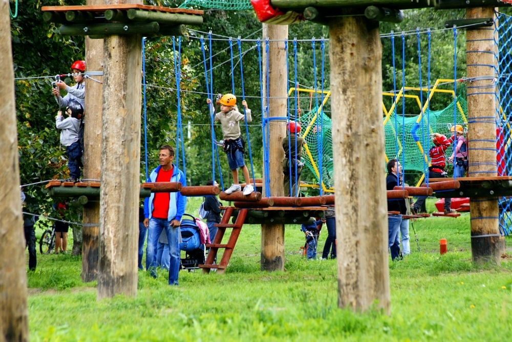 Rope Course Bielany