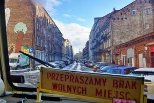 Warsaw: 2.5-Hour Dark Side - Praga District by a Retro Bus