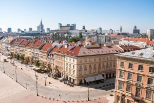 Warsaw: 3-Hour Morning Historical Sites Bus and Walking Tour