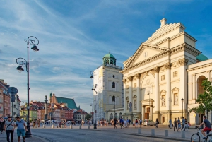 Warsaw: 3-Hour Private Walking Tour