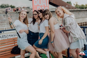 Warsaw: Boat Party with Unlimited Drinks &VIP Club Entrance