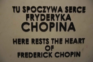 Warsaw: Chopin's Life Tour with Live Concert