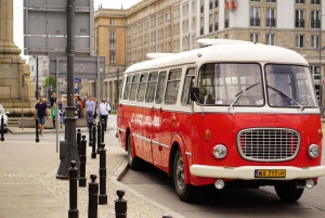 Warsaw City Sightseeing in a Retro Bus: Groups