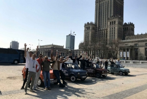 Warsaw: Communist History Self-Driving Tour