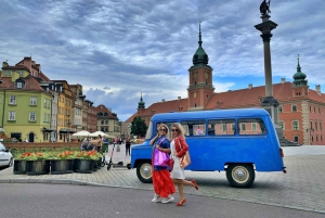 Warsaw: Guided City Tour in a Retro Bus or Minibus