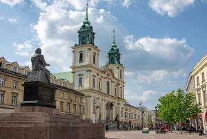 Warsaw: Guided Minivan Tour of Chopin's Warsaw