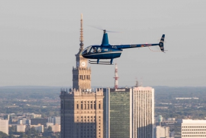 Warsaw: Helicopter Private Tour