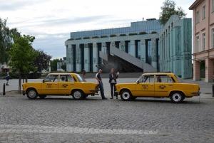 Warsaw: Historic Private Tour in Retro Fiat