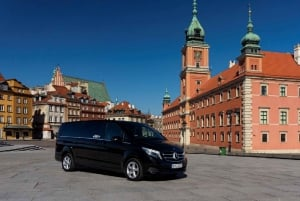 Warsaw: History and Modernity City Tour by Private Car