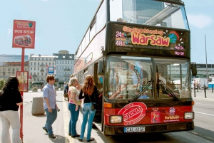 Warsaw Hop-On Hop-Off Bus Tour