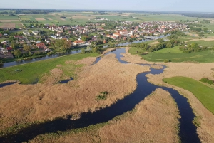 Warsaw: Hot Air Balloon Flight and Tykocin or Narew NP Visit