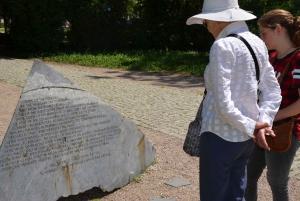 Warsaw Jewish Heritage Private Tour in Retro Fiat