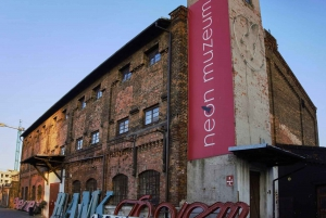 Warsaw: Private Neon Museum and Vodka Museum Tour