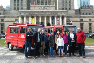 Warsaw: Private Tour Warsaw in a Nutshell by Retro Minibus