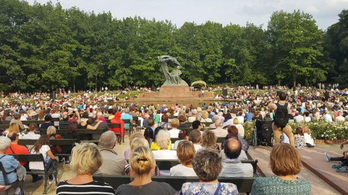 Chopin Concerts In Royal łazienki Park My Guide Warsaw