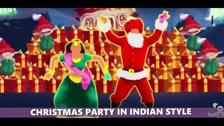Christmas Party in Indian Style