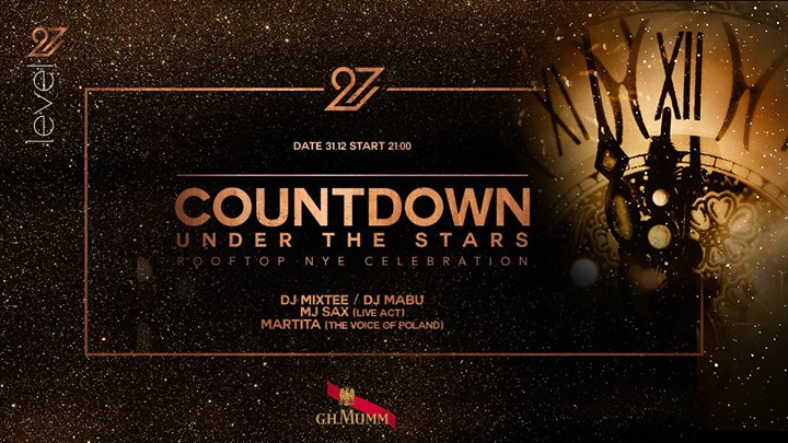 Countdown under the stars / Rooftop NYE Celebration
