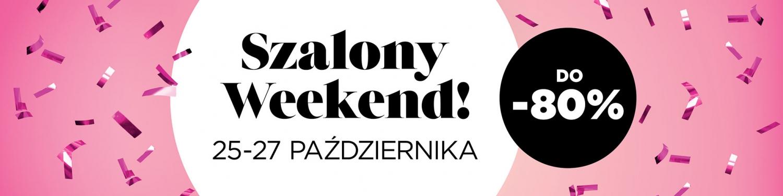 Crazy Weekend 25-27.10 at Designer Outlet Warszawa