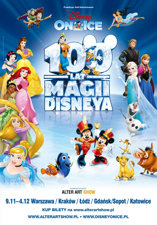 Disney On Ice Warsaw - Premiere in Warsaw