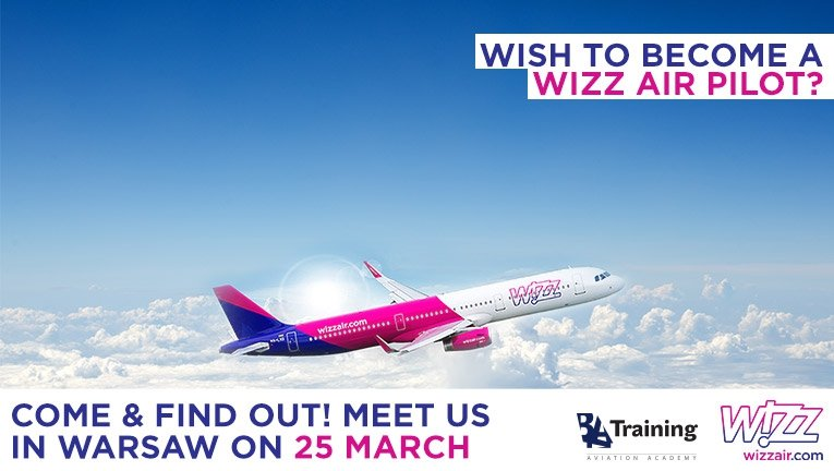 Do you have what it takes to become a Wizz Air pilot? Meet us in Warsaw!