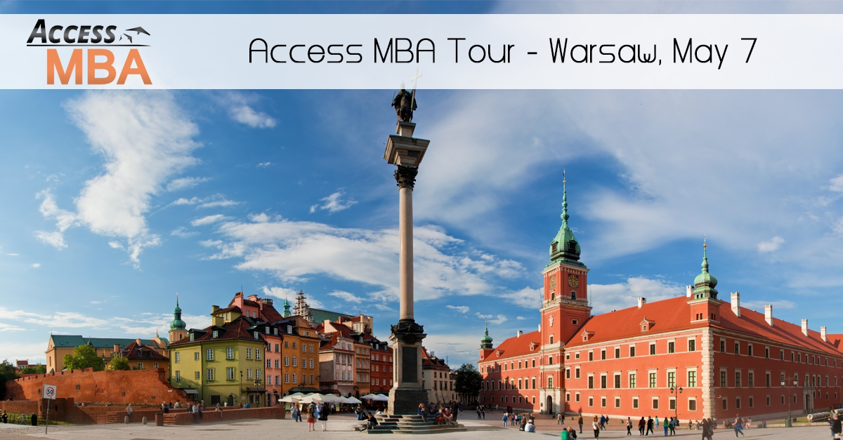 Exclusive MBA event in Warsaw on 7th of May