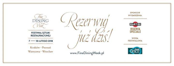 Fine Dining Week (07.02-18.02)