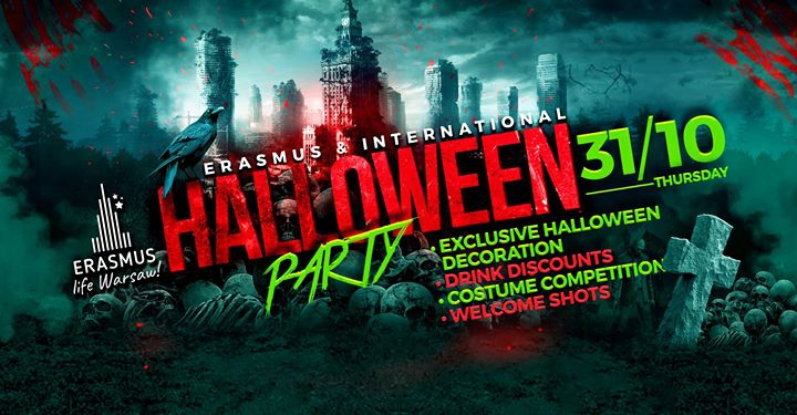 International Halloween party in Warsaw ✘ ELW ✘ Klub Dekada
