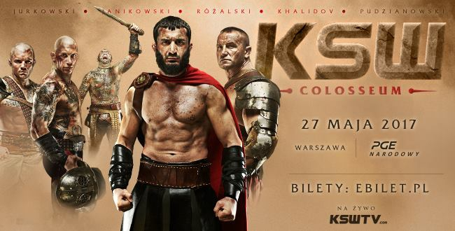 KSW 39: Colosseum