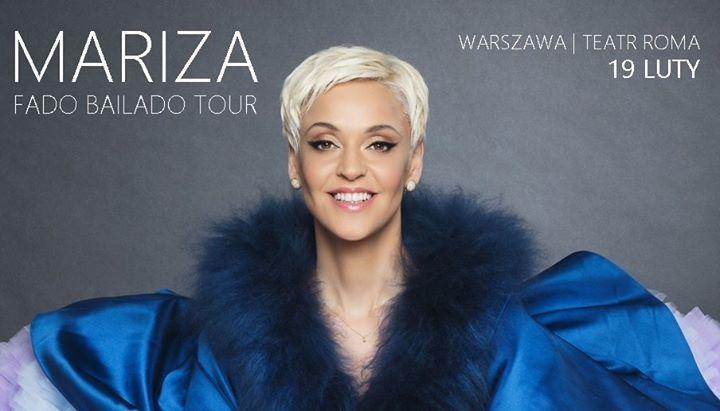 M a r i z a - Fado Bailado Tour // 19 luty // Warszawa