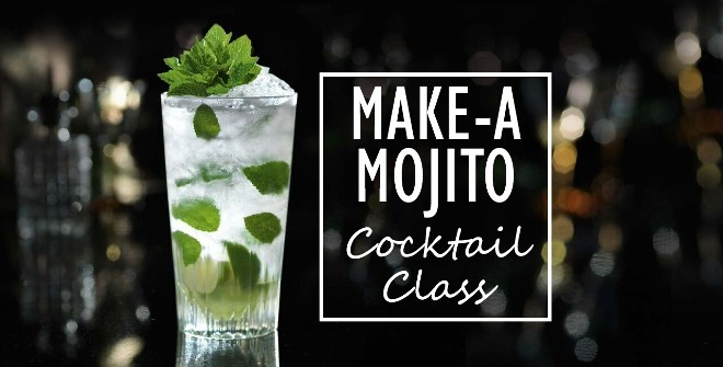 Make A Mojito Class in Bar and Books