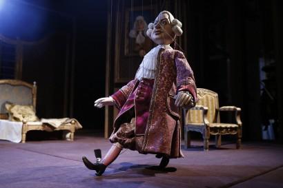 Marionette Theatre 'La serva padrona' opera