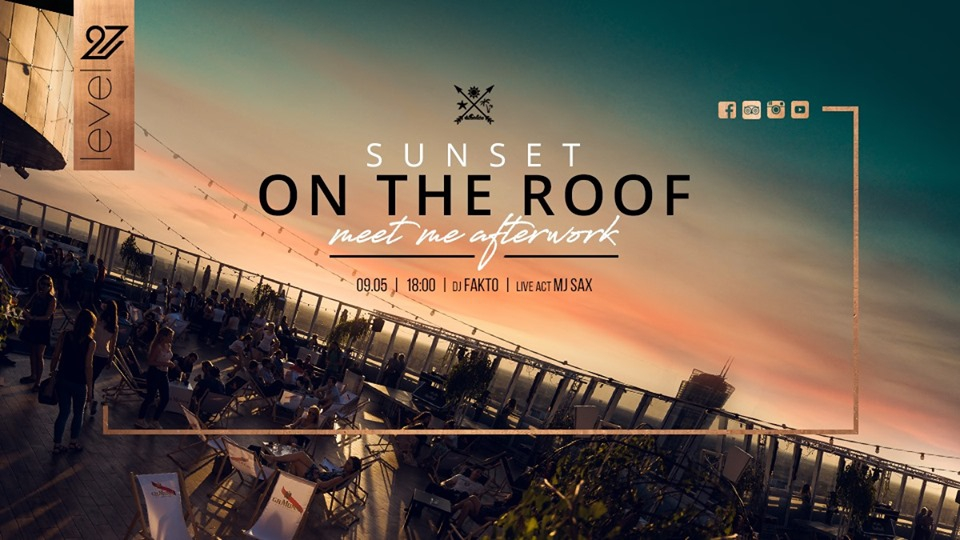 Sunset on the roof - Meet me afterwork