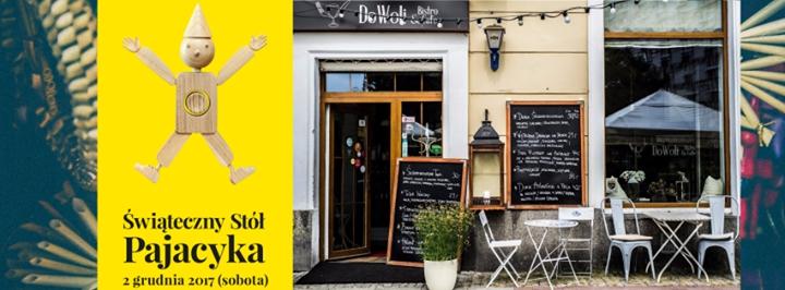 Świąteczny Stół Pajacyka w DoWoli Bistro & Cafe