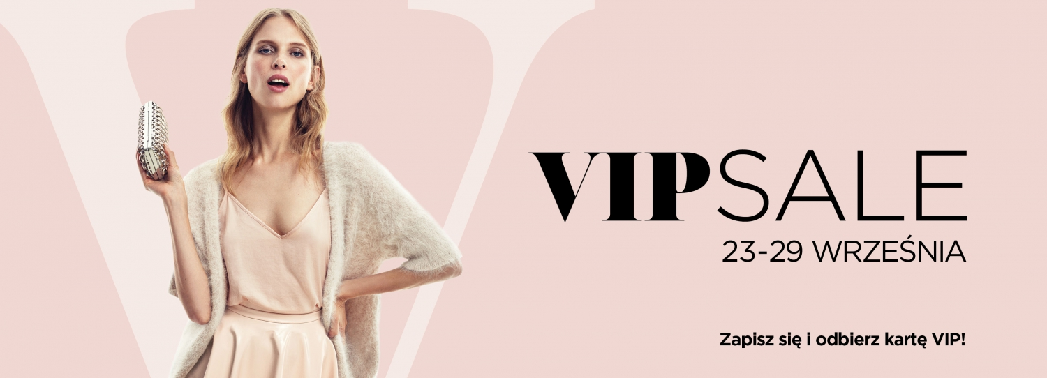VIP Sale at Designer Outlet Warszawa
