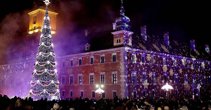 Warsaw Christmas Tree Lighting 2017   Live At Chido Fajny