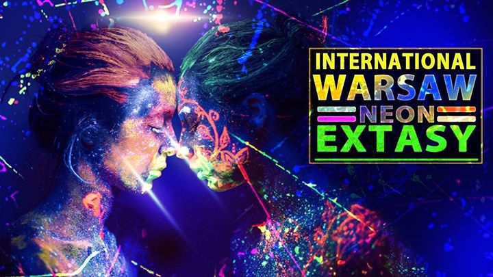 Warsaw International Students NEON Extasy Party