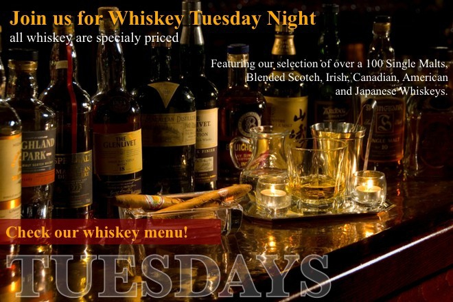 Whisky Tuesday Nights in Bar and Books