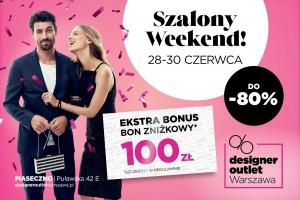 Crazy Weekend at Designer Outlet Warszawa
