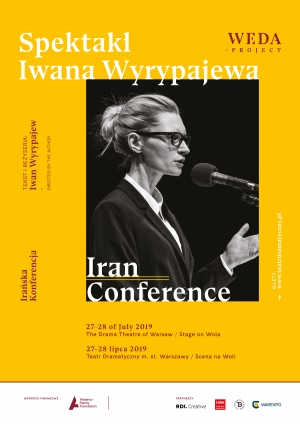 Iran Conference by Ivan Vyrypaev