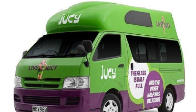 Jucy Campervan Hire Wellington