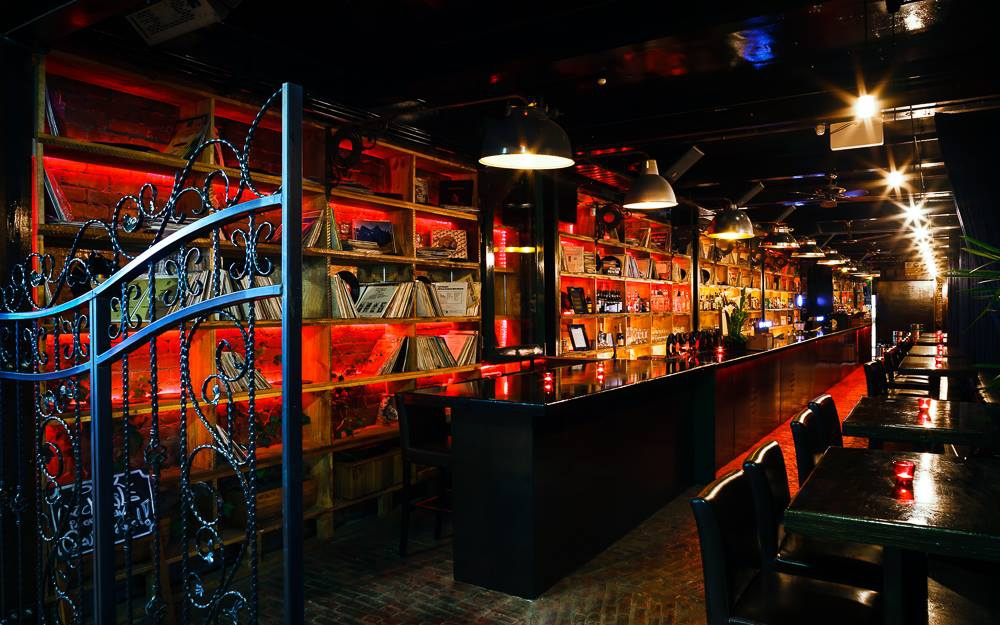Vinyl Bar