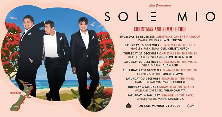 Christmas On The Harbour with Sol3 Mio