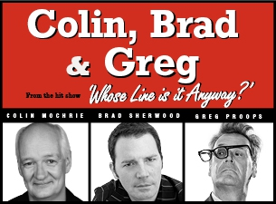 Colin, Brad & Greg From Whose Line Is It Anyway