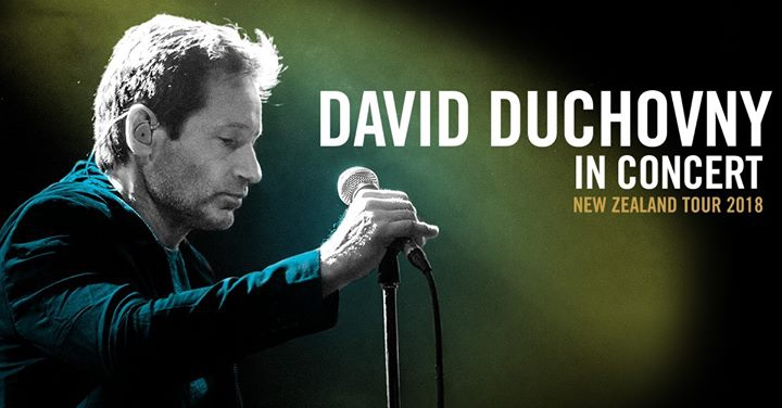 David Duchovny: New Zealand Tour